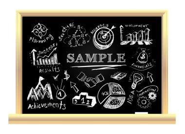 Creative blackboard idea