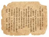 grunge papír s hieroglyfy Egypta váš design