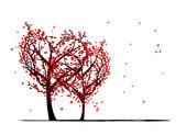 Fényképek Fák, a szeretet a tervez