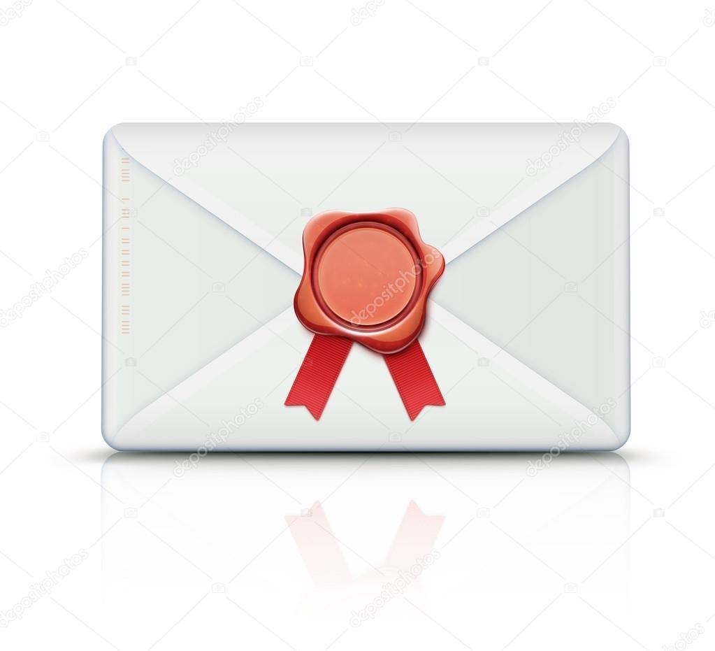Retro envelope