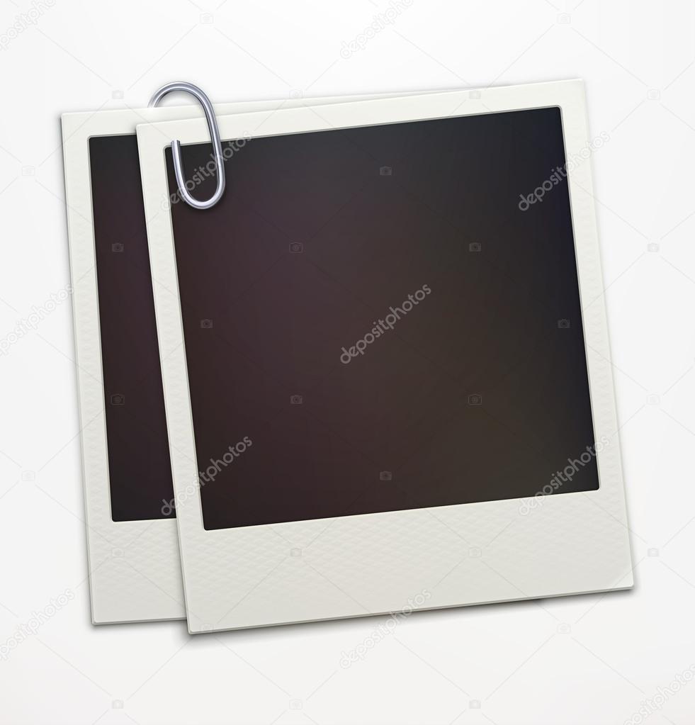 Polaroid-Foto-Rahmen — Stockvektor © ladyann #16969169