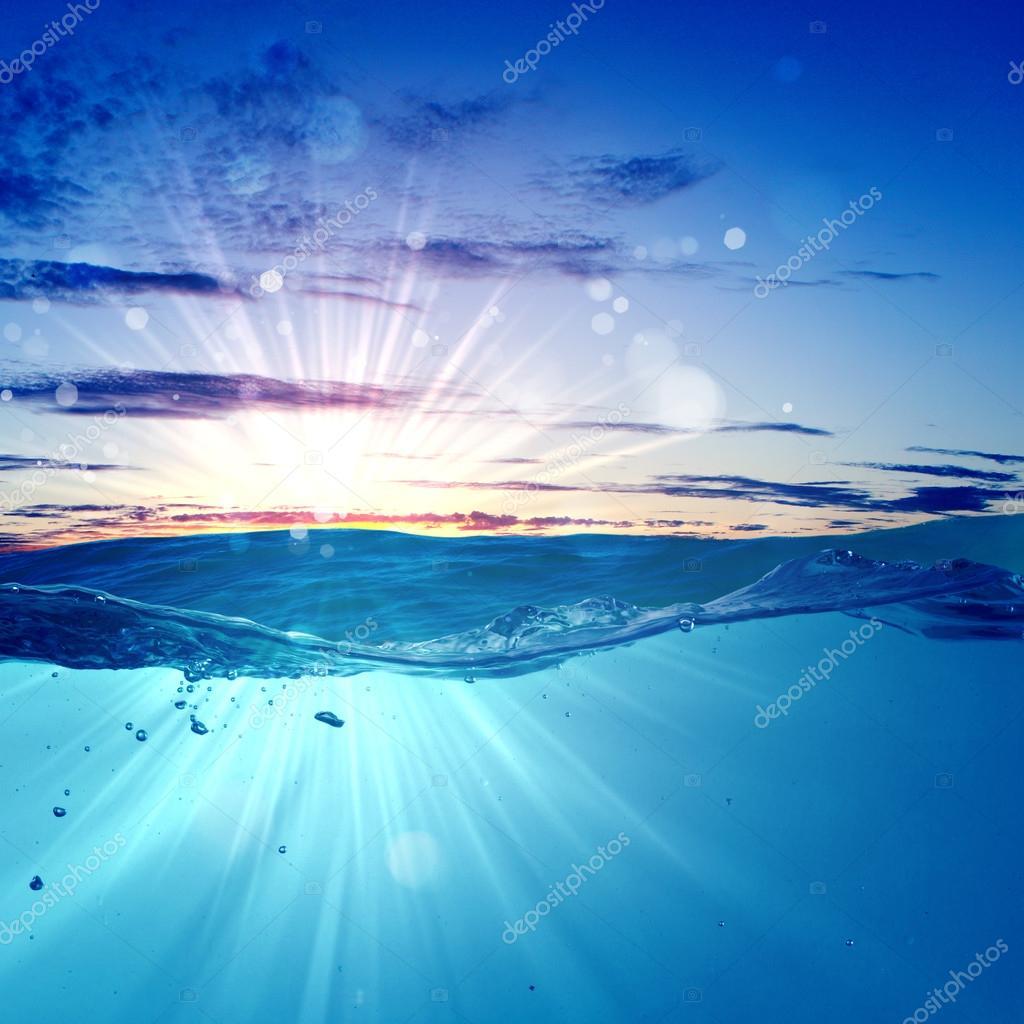 Фотообои Sundown seascape