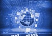 immagine del globo digitale