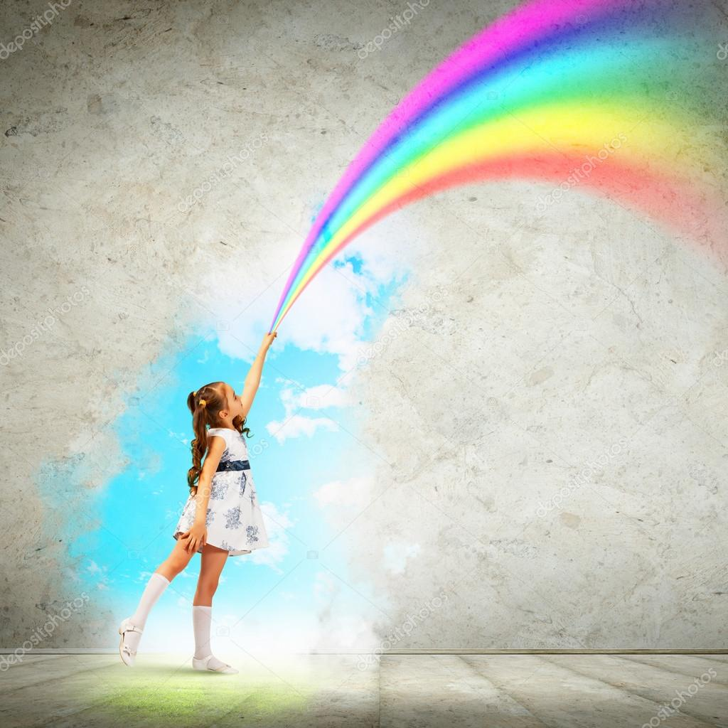 Resultado de imagem para pequeno arco-íris