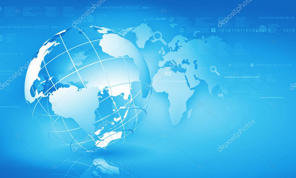 Globalization concept — Stock Photo © SergeyNivens #30507585