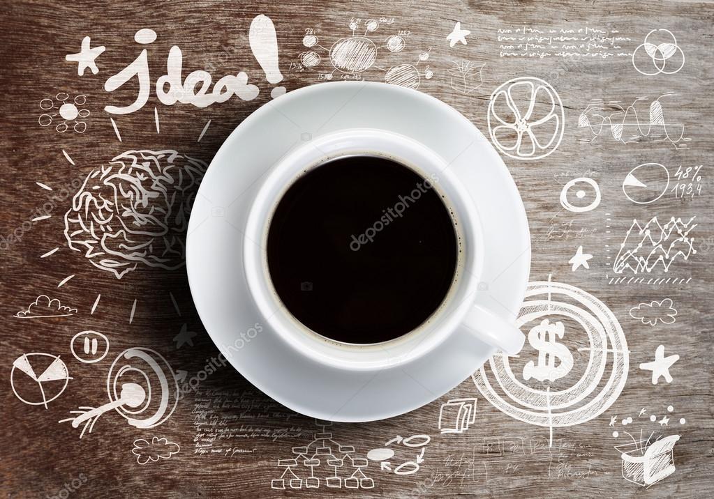 coffee break stock photo sergeynivens 50920183. Black Bedroom Furniture Sets. Home Design Ideas