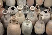 Fotografie antiken Amphoren. Archäologische Funde