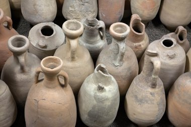 The ancient amphorae. Archaeological finds.