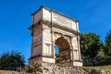 Triumphal Arch of Titus in the Roman Forum