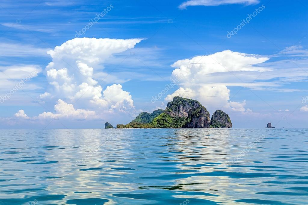 Tropical islands of the Andaman Sea in Thailand