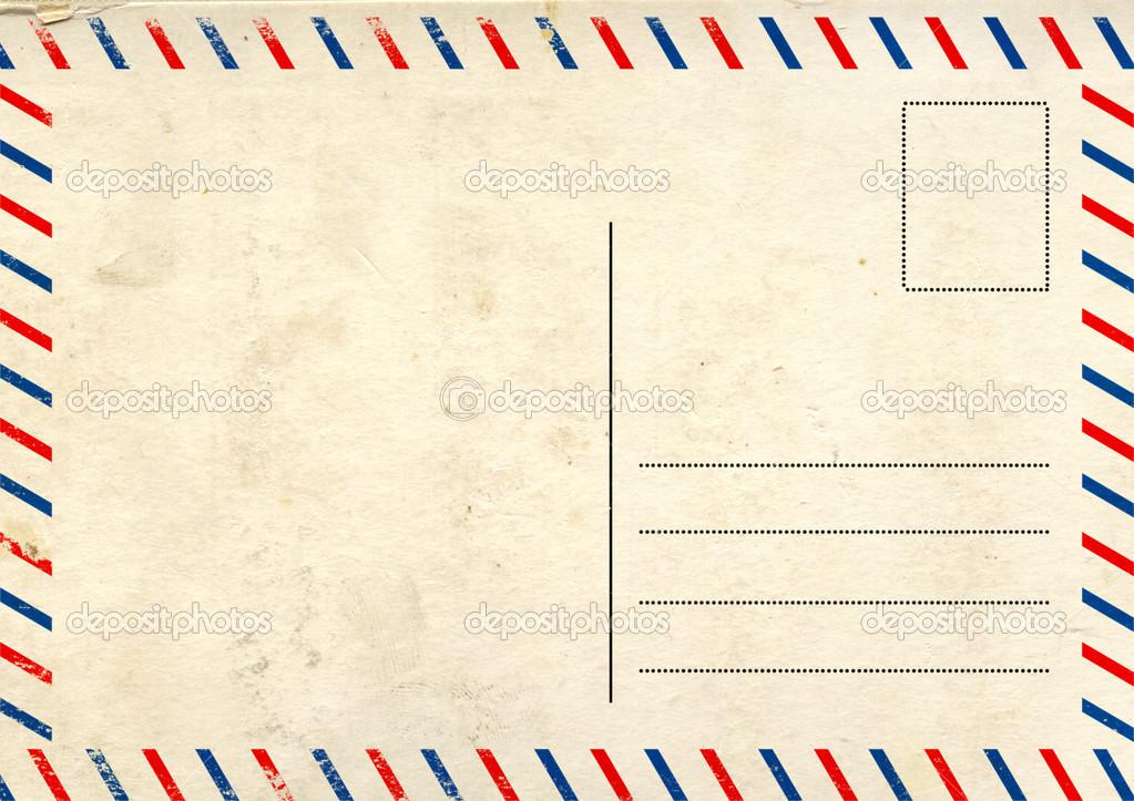 Почтовая открытка по английски