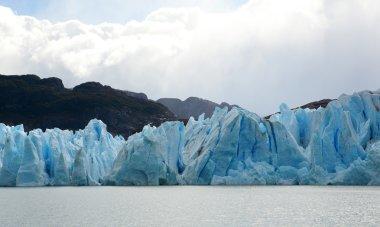 Grey glacier in Patagonia, Chile, South America