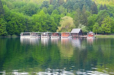 Ferries in Plitvice lakes national park