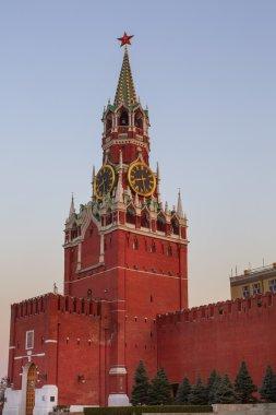 Clock tower of Moscow Kremlin