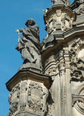 Fotografie detail Sloup Nejsvětější Trojice v Olomouci, dědictví unesco