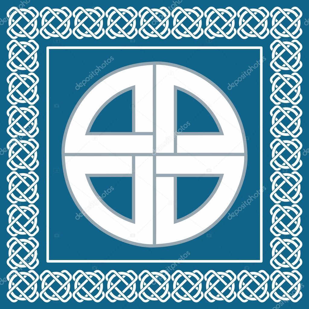 Noeud celtique antique symbole de protection utilis e par - Symbole de protection ...