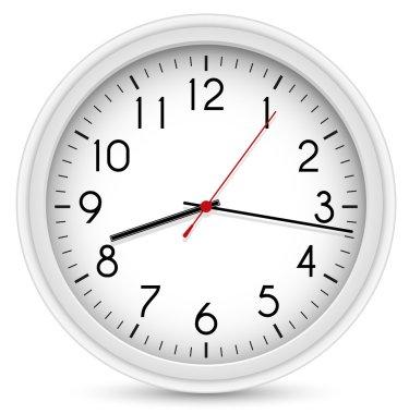 Wall Clock. Vector Office Clock