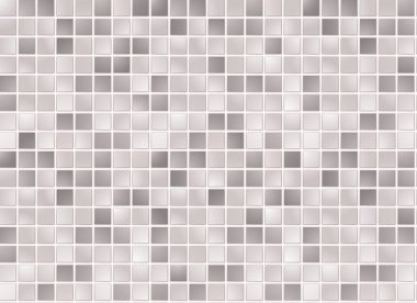 Seamless grey square tiles pattern