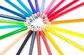 Skupina barevné tužky