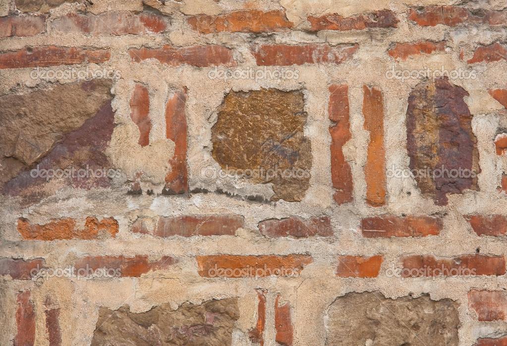 Muros de mamposter a de piedra y ladrillo fotos de stock - Ladrillos de piedra ...