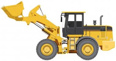 Big wheel loader