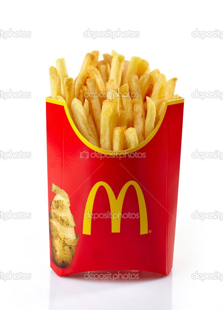 mcdonalds pommes frites pris