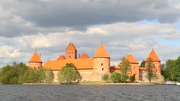 trakai,立陶宛的城堡Hrad Trakai, Litvaリトアニア、トラカイ城