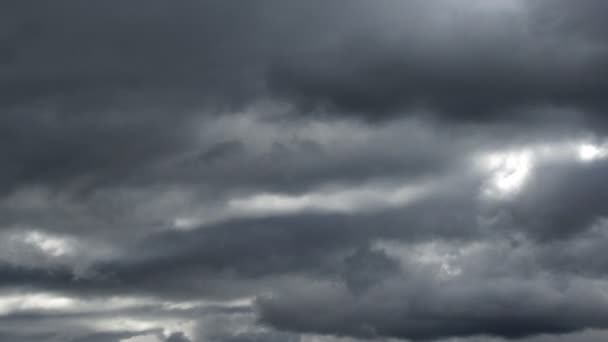 storm clouds, timelapse