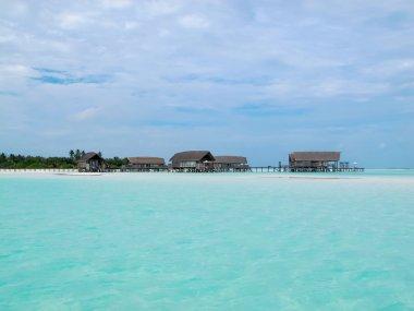 Water villa cottages, Maldives