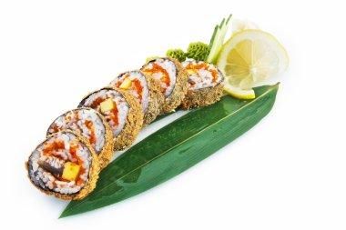 Sushi Ronin isolated on white background