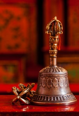 Tibetan Buddhist still life - vajra and bell