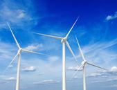 větrné elektrárny generátor v nebi