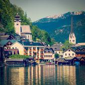 vesnice Hallstatt, Rakousko