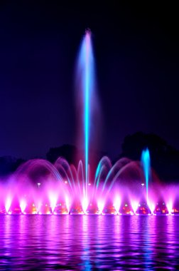 Wroclaw fountain show