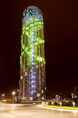 Alphabet tower