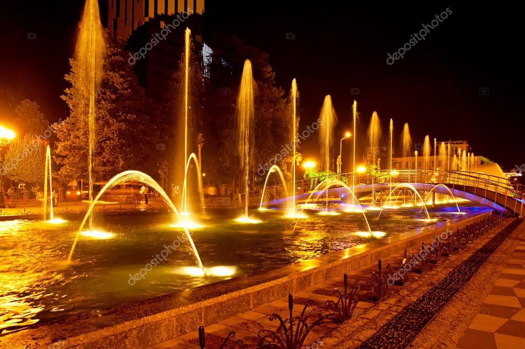 Batumi fountain show