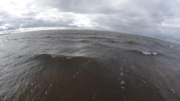 velkého oceánu vlnu