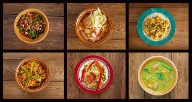 southern food.Latin American cuisine