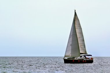 Small sailing yacht