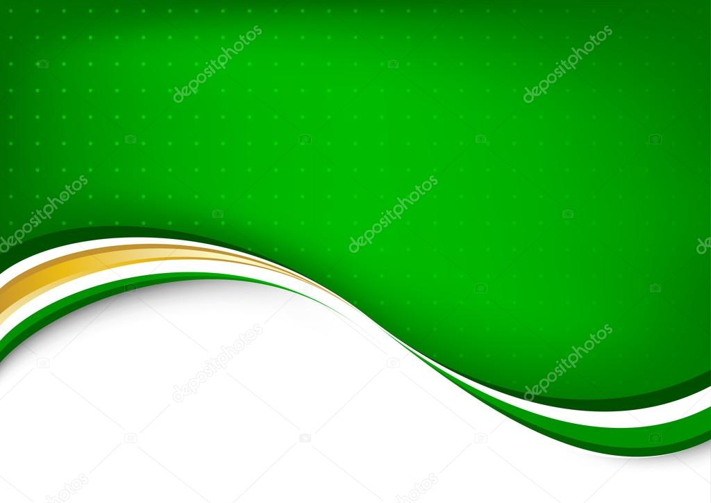 Green abstract clean background