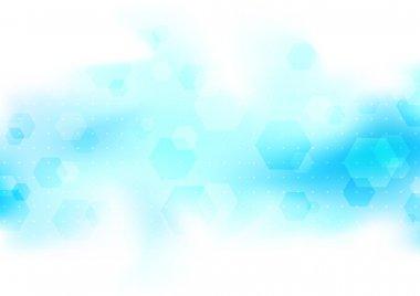 Transparent modern background template