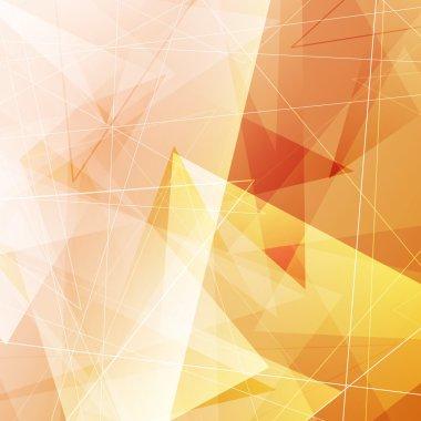 Geometrical modern triangular hipster background