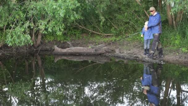 a halász halászat folyó