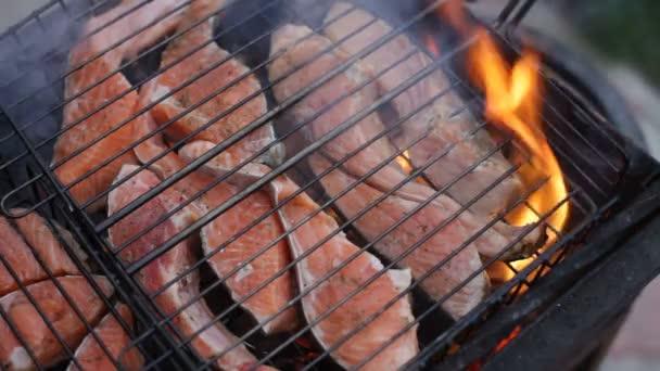 Piros hal, grill