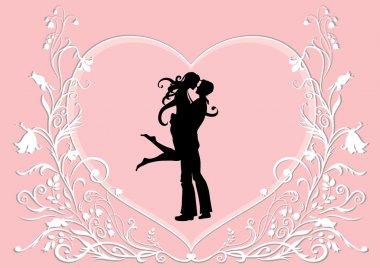 Vector Valentine's Day background clip art vector