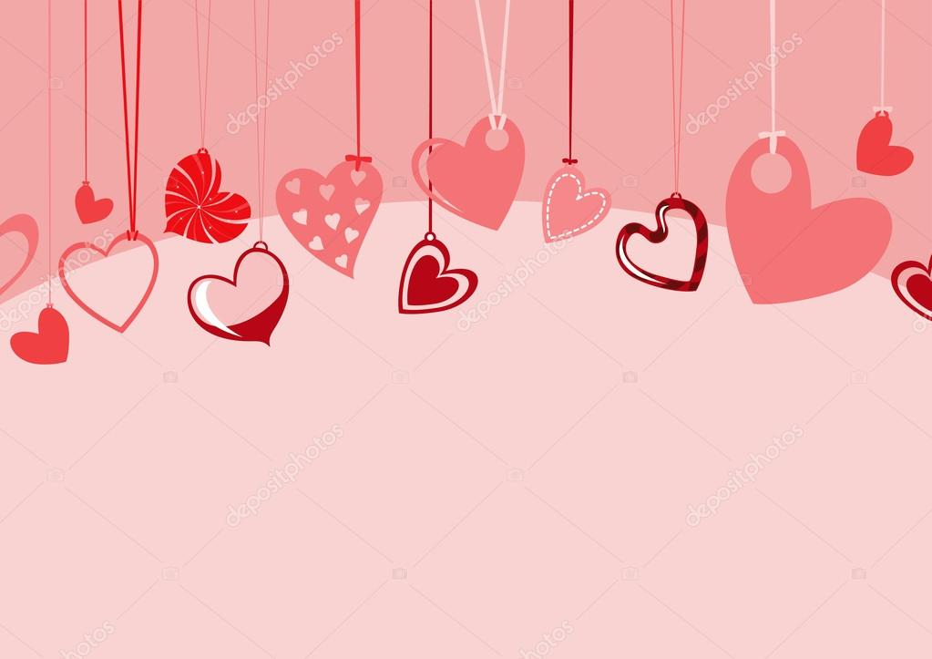 Valentine S Day Background Stock Vector Trilingstudio 12040641