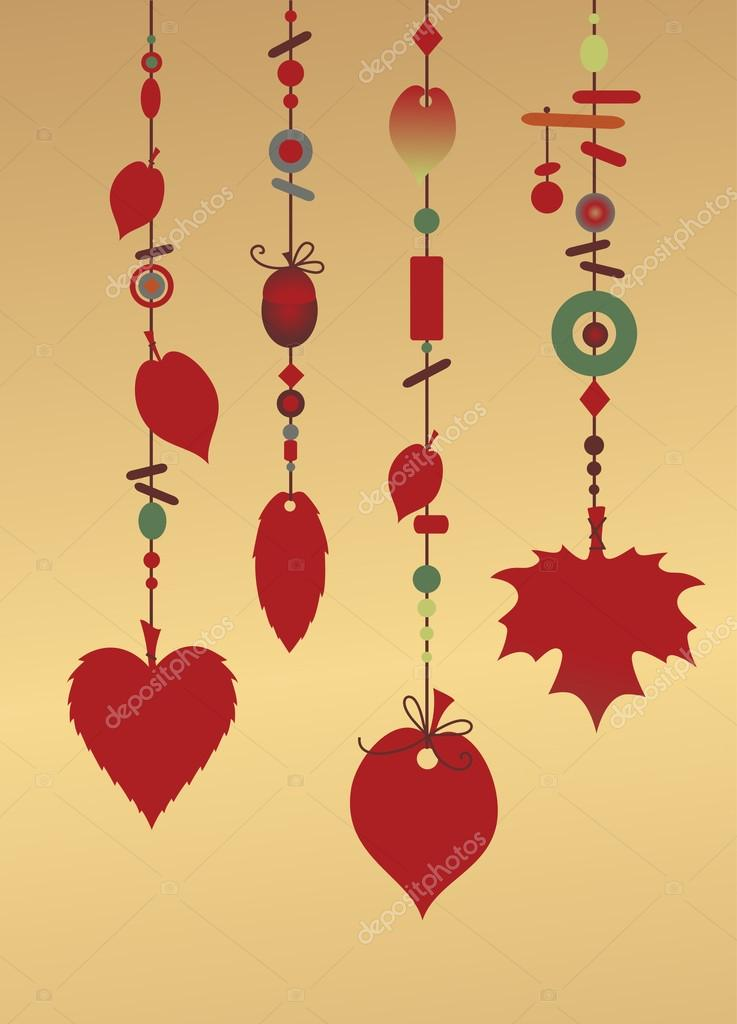 Decorative Wind Chimes Stock Vector Trilingstudio 12417268