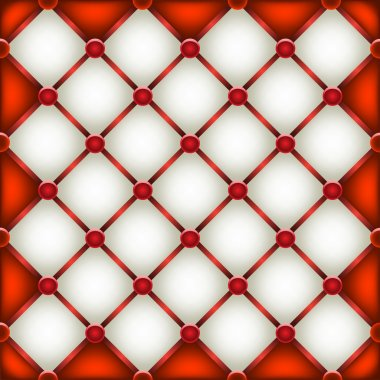 red and white leather furniture texture
