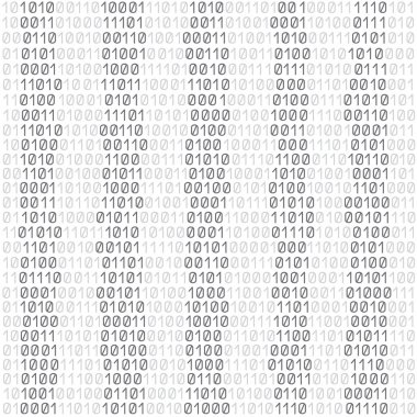 white code background