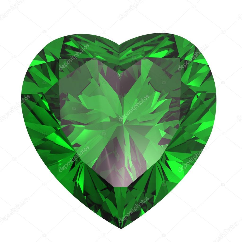 im225genes esmeraldas y diamantes coraz243n en forma de